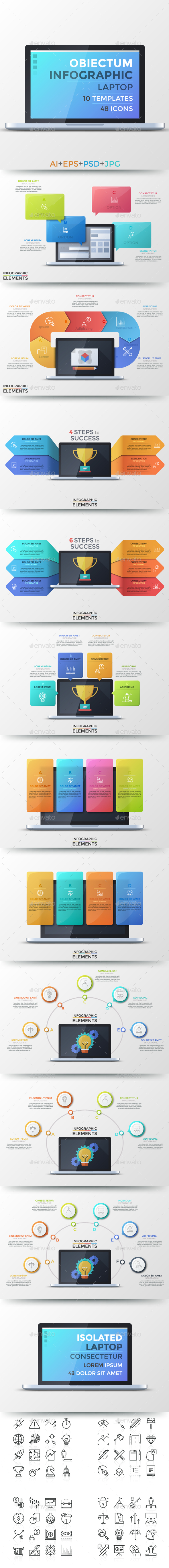 GraphicRiver Obiectum Infographic Laptop 21137924