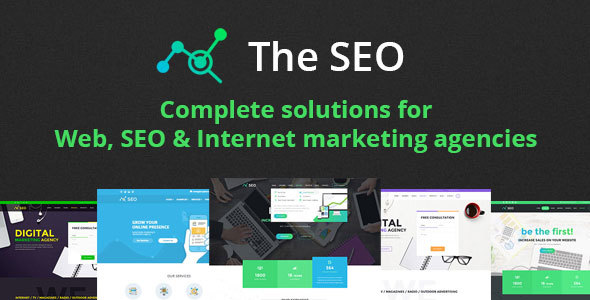 The SEO - Digital Marketing Agency WordPress Theme - Marketing Corporate