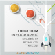 Obiectum Infographic. Spaceship - GraphicRiver Item for Sale