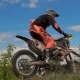 Motocross Racer Jumping. - VideoHive Item for Sale