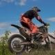 Motocross Racer Jumping. - VideoHive Item for Sale