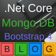 Donet core MVC blog and MongoDB