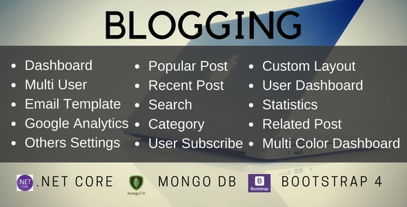 Download Source code              Donet core MVC blog and MongoDB            nulled nulled version