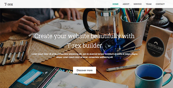 Download Source code              Slim Landingpage For T-rex Site Builder: Visual Site Builder            nulled nulled version