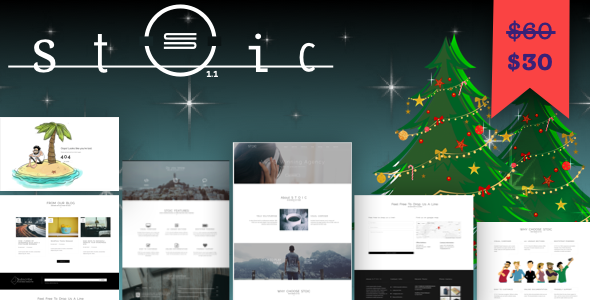 Stoic | Multipurpose Responsive WordPress Theme