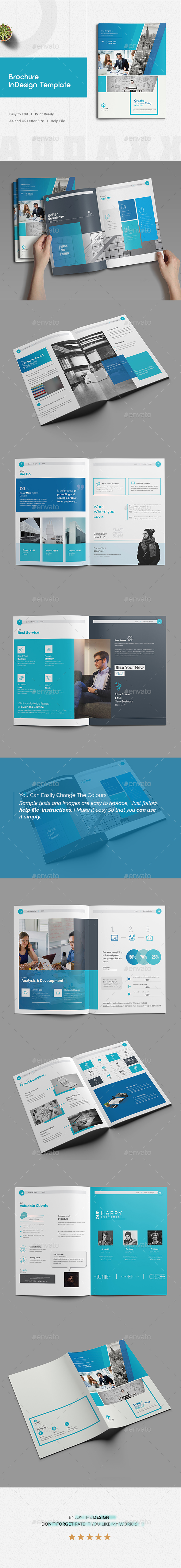 GraphicRiver Brochure Indesign Template 21171334