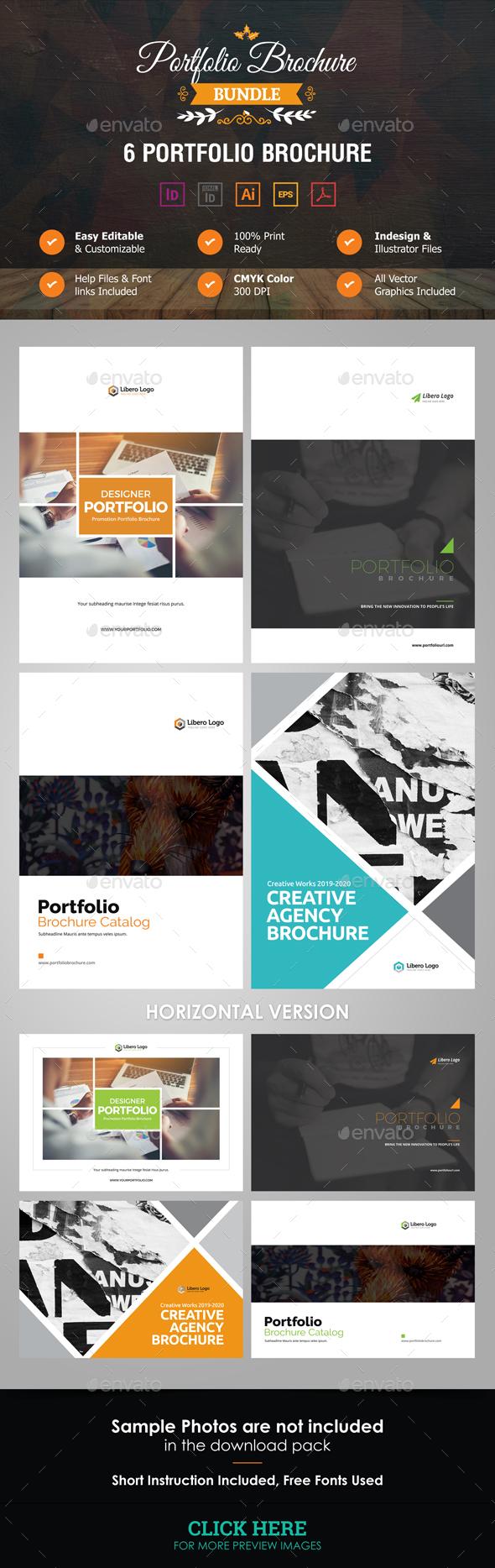 GraphicRiver Portfolio Brochure Bundle 21171349