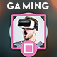 4 YouTube Gaming Banners - GraphicRiver Item for Sale