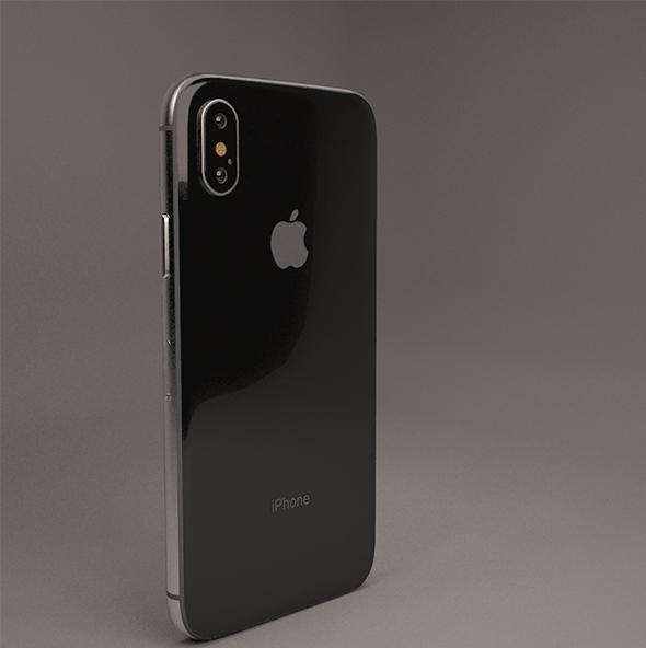 Apple iPhone X (iPhone10) - 3DOcean Item for Sale