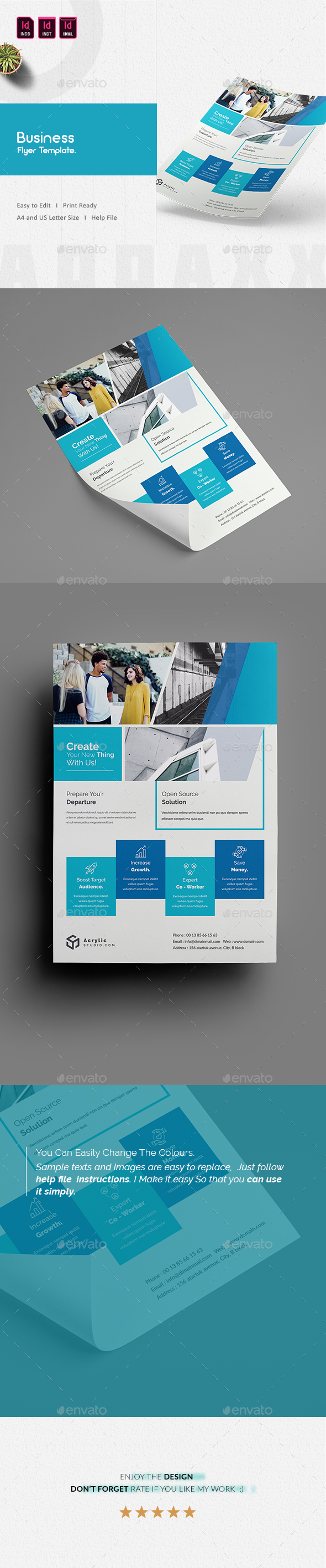 GraphicRiver Business Flyer 21171648