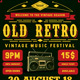 Retro Flyer/Poster Vol.3 - GraphicRiver Item for Sale