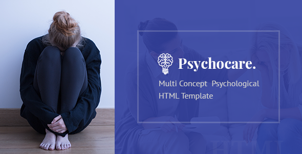 Psychocare - Psychology & Counseling HTML Template - Health & Beauty Retail