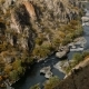 Mountain River Flows Between Huge Rocks - VideoHive Item for Sale