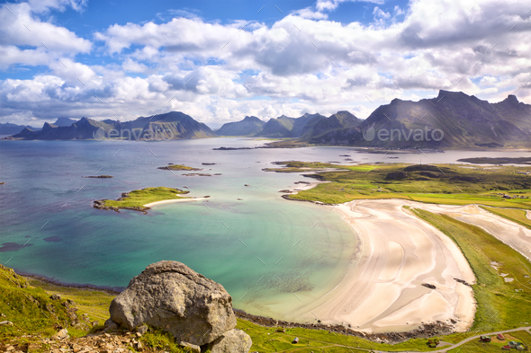 Lofoten Islands, Norway - Stock Photo - Images