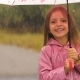 Little Girl under Rain - VideoHive Item for Sale