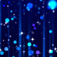 Blue Particles Glitter - VideoHive Item for Sale