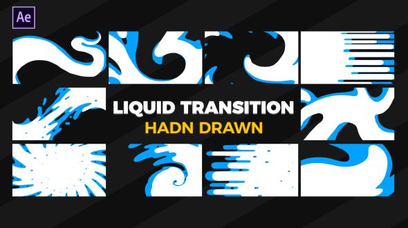 VideoHive Hand Drawn Liquid Transition 21172726