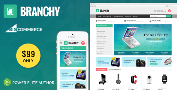 Download Branchy - Multipurpose Stencil BigCommerce Theme            nulled nulled version