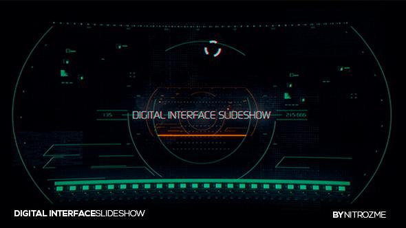 VideoHive Digital Interface Reel 21173326