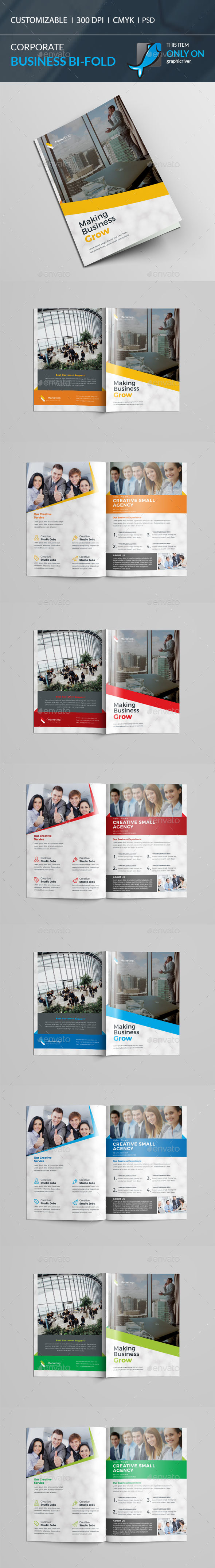 GraphicRiver Bi-Fold Brochure 21173560
