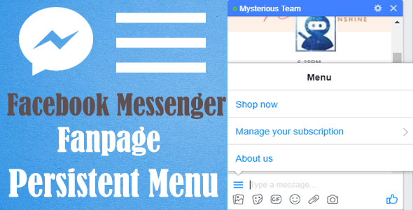 CodeCanyon Fanpage Persistent Menu Plugin WordPress 21173668