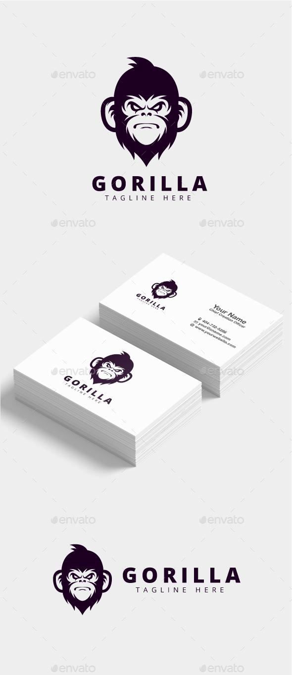 GraphicRiver Gorilla Logo 21173707