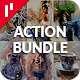 New Year Photoshop Action Bundle