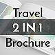 2 in 1 Travel Brochures - GraphicRiver Item for Sale