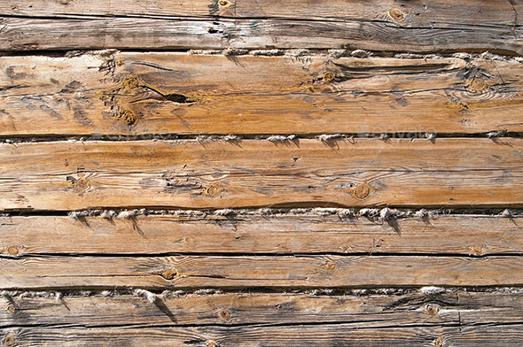 Rough Wood Wall Background - Backgrounds Graphics