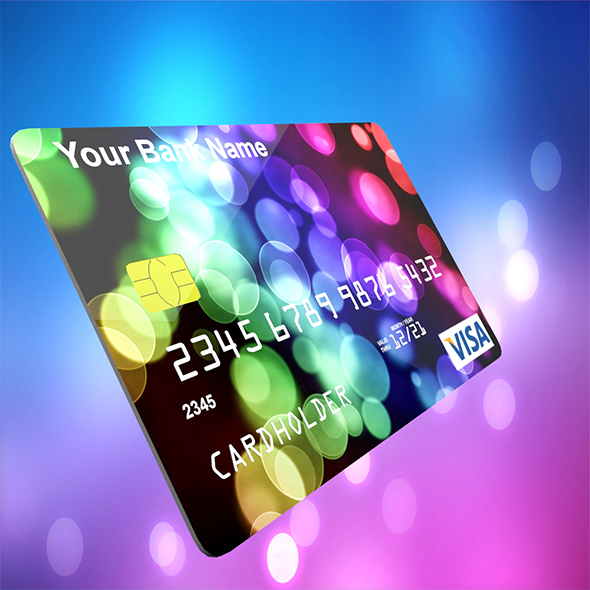 Credit Card - 3DOcean Item for Sale