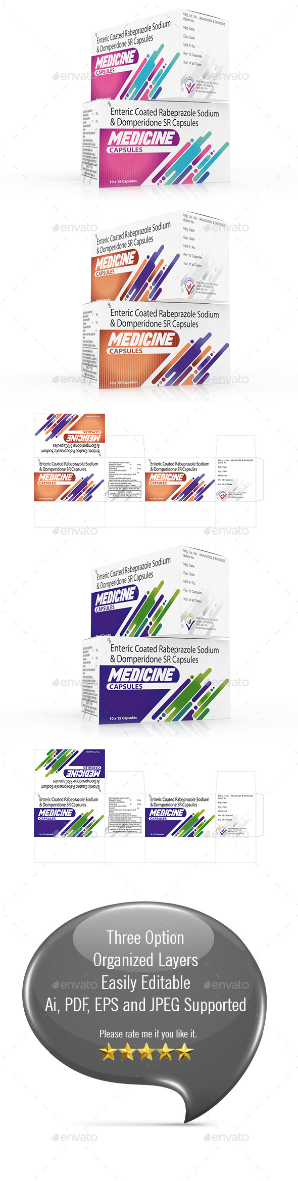 GraphicRiver Medicine Box Template Vol-01 21174198