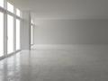 Interior empty room 3D rendering - PhotoDune Item for Sale