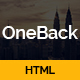 Oneback - One Page Parallax - ThemeForest Item for Sale
