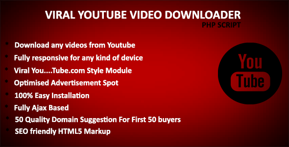 Moko Viral YouTube Downloader - Best Viral YouTube Video Downloader Script Best Scripts