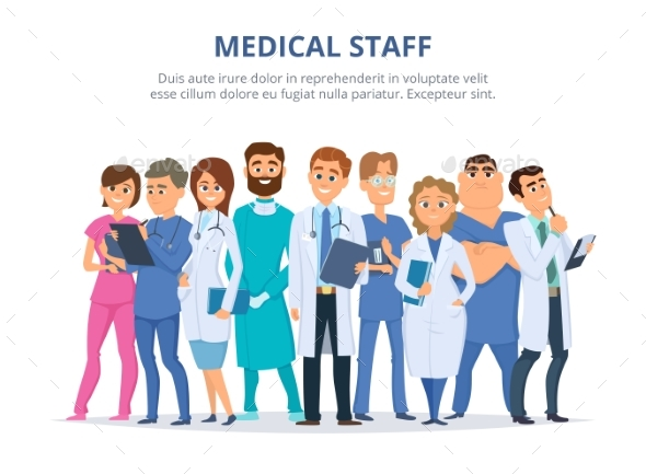 GraphicRiver Medical Staff 21174318