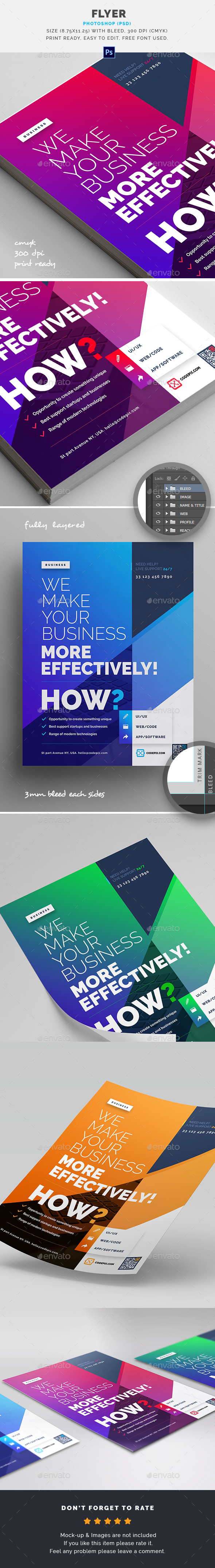 GraphicRiver Flyer 21174411
