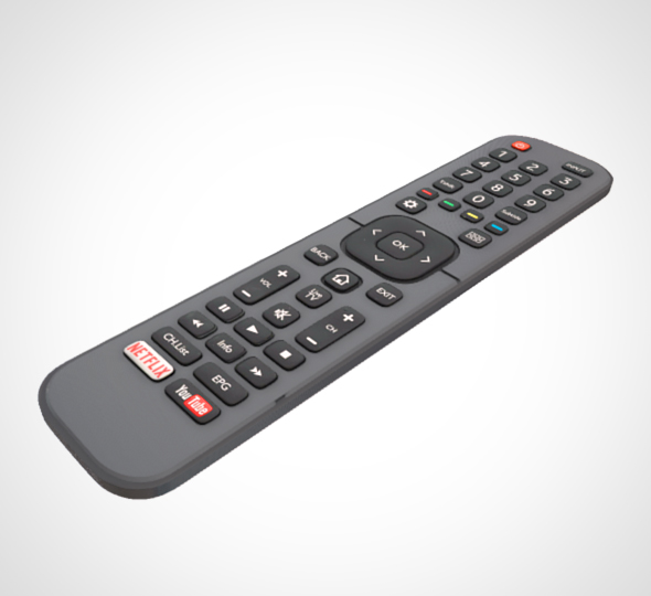 TV Remote Control 001 - 3DOcean Item for Sale