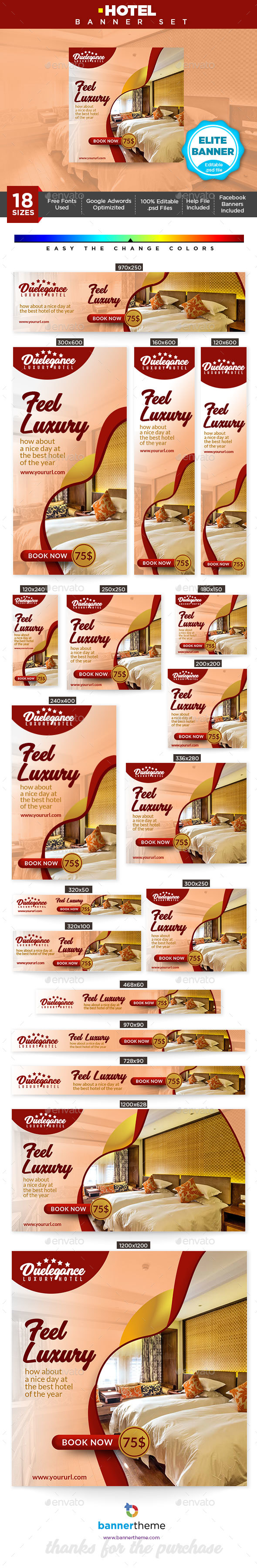GraphicRiver Hotel Banner 21175272