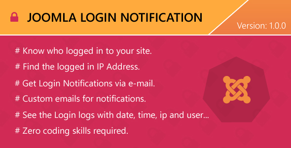 Download Source code              Joomla Login Notification            nulled nulled version