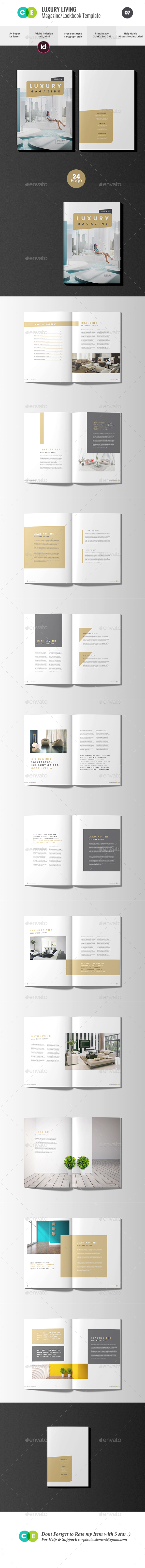 The Magazine | Luxury Living Magazine V07 - Magazines Print Templates