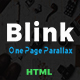 Blink - One Page Parallax - ThemeForest Item for Sale