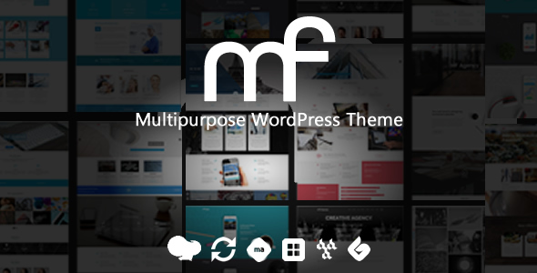 Image of MF - Premium WordPress Theme