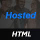 Hosted - Hosting HTML Template - ThemeForest Item for Sale