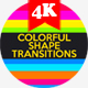 Colorful Shape Transitions