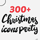 300+ Christmas Icons - GraphicRiver Item for Sale