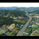 Aerial view of the highway on the mountain - VideoHive Item for Sale