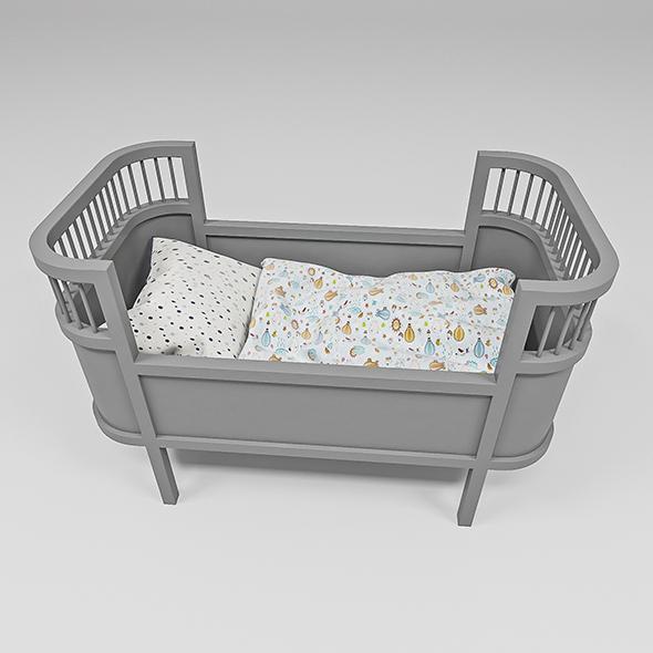 Rosaline Doll bed - 3DOcean Item for Sale