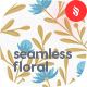 Seamless Floral Patterns / Backgrounds