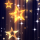 Stars Gold Glitter - VideoHive Item for Sale