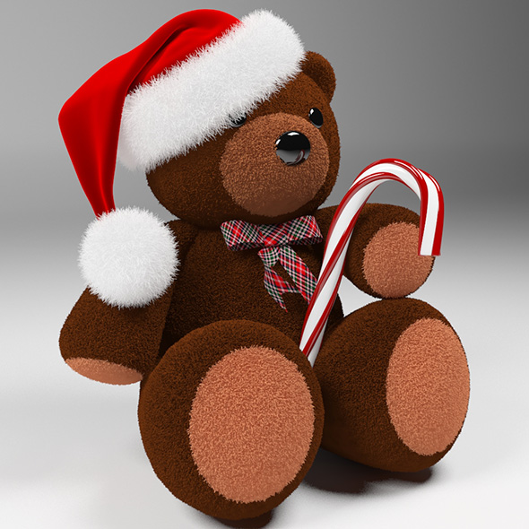 Christmas-Bear - 3DOcean Item for Sale